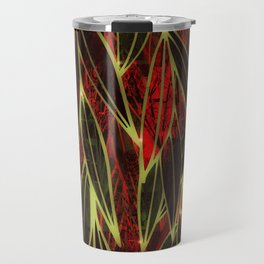 Magical Bamboo Forest in Night Glow Travel Mug
