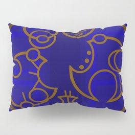 Dr. Who Inspired Art-Piece Pillow Sham