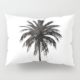 Watercolor Palm Tree Pillow Sham