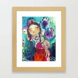 Serendipity Framed Art Print