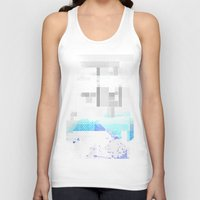 fog Tank Tops featuring Fog by allan redd