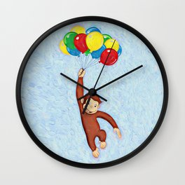 Curious George Wall Clock