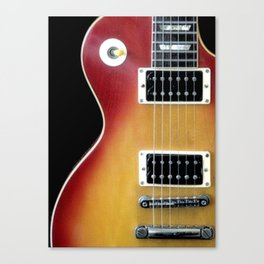 Les Paul Canvas Print