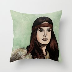 LDR VIII Throw Pillow