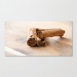 Cinnamon Stick Canvas Print