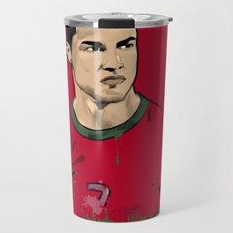 Cristiano Ronaldo Travel Mug
