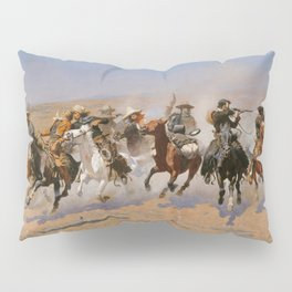 A Dash for the Timber - Frederic Remington Pillow Sham