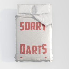 Dart Player Darts Season Tournament Gift Comforters