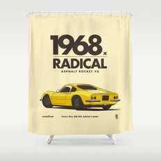 1968 Shower Curtain