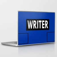 writer Laptop & iPad Skins featuring Castle | Writer Vest v1.0 by Sandi Panda