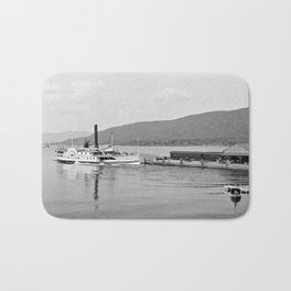 The Horicon I Steamboat 1904 Bath Mat