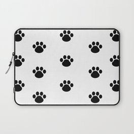 Puppy Dog Paw Prints Laptop Sleeve