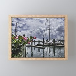 The Harbour Framed Mini Art Print