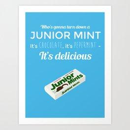 Seinfeld - Junior Mint Art Print