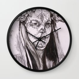 Study for Te Acuerde ( I Remember You) Wall Clock