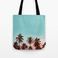 california Tote Bags featuring California by 83 Oranges™