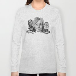 Hillary Clinton Long Sleeve T-shirt