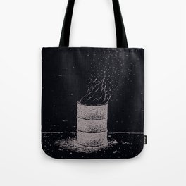 Barrel Fire Tote Bag