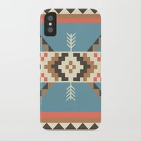 aztec iPhone & iPod Cases featuring AZTEC by 6ense