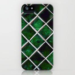 Emerald Pattern iPhone Case