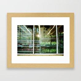 Flower Market | DTLA III Framed Art Print