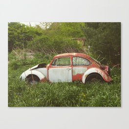 Rusty slug bug Canvas Print