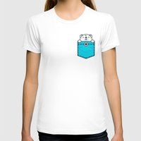 pocket T-shirts featuring Pocket Polar by Steven Toang