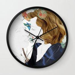 Jungle Romance Wall Clock