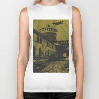 milan Biker Tanks featuring Milan 5 by Anand Brai