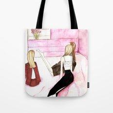 L'amitie Tote Bag