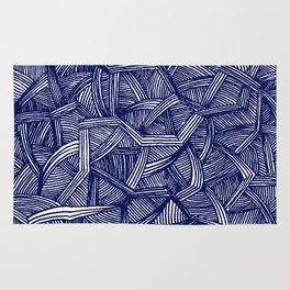 - blue lines - Rug