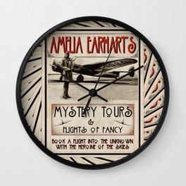 Mystery Tours & Flights of Fancy Wall Clock