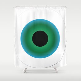 Eye See Ew Shower Curtain