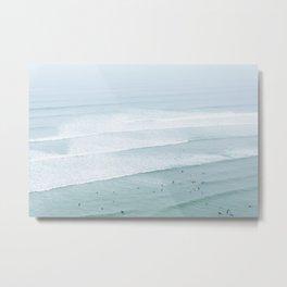 Tiny Surfers from the Sky 3, Lima, Peru Metal Print
