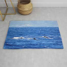Whale Watching in the Caribbean Rug
