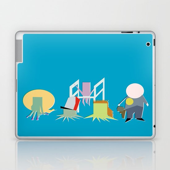 Minimal Squidbillies Laptop & iPad Skin