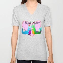 Best Friend Slugs Unisex V-Neck