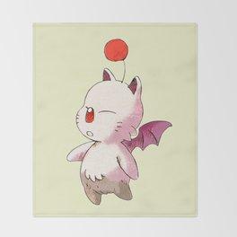 FINAL FANTASY CUTE MOGURI Throw Blanket