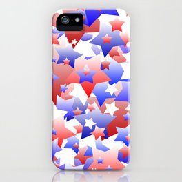 Patriotic Stars iPhone Case