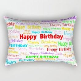 Happy Birthday! 1 Rectangular Pillow