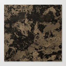 Galaxy in Taupe Canvas Print