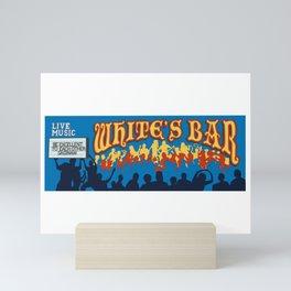 White's Bar Mural Mini Art Print