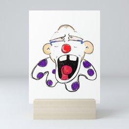 Sad Clown Mini Art Print