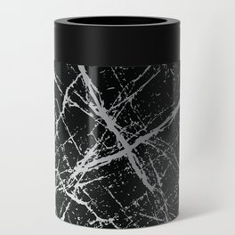 Silver Splatter 090 Can Cooler