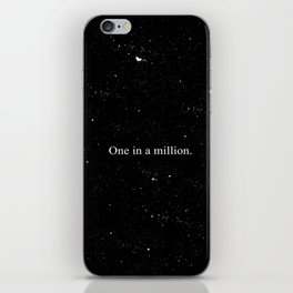 One in a million iPhone Skin