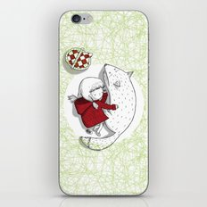 Bad wolves don't exist. iPhone & iPod Skin
