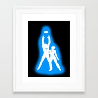 tron Framed Art Prints featuring Tron by KewlZidane
