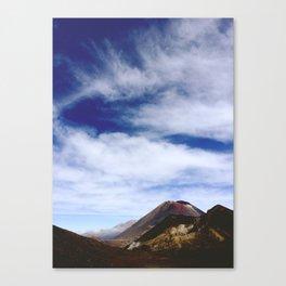 AROUND THE WORLD // TONGARIRO Canvas Print