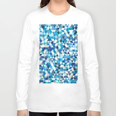 Icy triangles Long Sleeve T-shirt