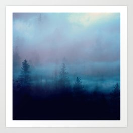 Mystic Forest Art Print